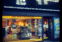 shop / Vinyl Tap Records in Huddersfield. Directly across from the train station (underneath the lion). New and used vinyl and CDs. Come in and say hello.