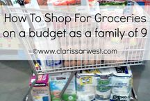 Grocery Shopping Budget Ideas