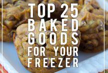 Freezable Baked Goods