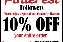 BunkhouseWestern.Com Discounts/Coupons / The deals listed in this folder are only good for the time specified in the description. Follow this board to get updates on all the latest deals and special offers to our Pinterest followers only.