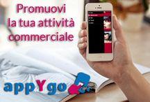 appYgo / Con AppyGo non avrai più bisogno di rivolgerti a dei professionisti per creare la tua app perchè potrai farlo tu stesso. In pochi minuti avrai creato, personalizzato e pubblicato la tua app vetrina ad un costo contenuto. Visita il nostro sito per maggiori informazioni www.appygo.it