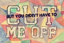 quotes & lyrics; / words inspire me! / by Livia Cristina