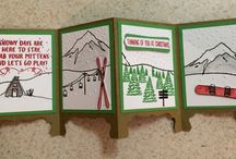 Stampin' Up! Outdoor cards