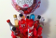 Booze-Quets / I made this for my best friends 30th birthday. Super easy and super cute! / by Shelli Zeugin