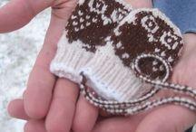Restegarnsprosjekter / Ideas for left over yarns
