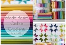 Ombre Gradient Fabrics By V and Co for Moda Fabrics / by V and Co.