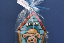 Gingerbread House Dog Houses