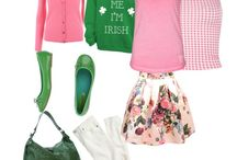 Pink & Green splash...