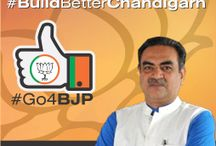 BJP Campaign / BJP4Chandigarh has reached out to the people through meaningful expressions that communicates its professional approach to city's development, commitment to fulfil the people's expectations, and inspire its cadre at all levels to work in their respective wards through systematic planning and execution.