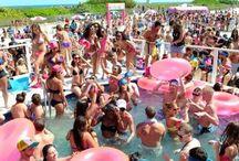 Sweet 16 beach party