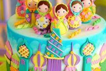 lebaran mubarak cakes