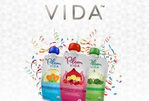 Plum Vida / Finally, a pouch just for you! Plum Vida™ is a vibrant, organic blend of fruits and veggies (with a bit of culinary flair!) that will invigorate your body and refresh your daily snack routine. Check it out: plumvida.com / by Plum Organics