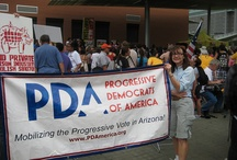 Phoenix March and Civil Disobedience Against SB1070, April 25th 2012