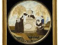 Embroidered Memorial/Mourning