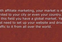 Affiliate Marketing / Educating you about affiliate marketing so you can find out if it's the opportunity you've been looking for.