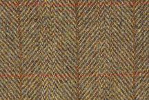 'Harris Tweed' cloth / The 'Harris Tweed' fabrics Snow Paw have proudly used on their footwear. #HarrisTweed