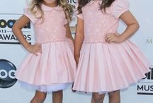 "Sophia Grace and Rosie / I first found these two as the ""Brit Brats"" on Sam and Cat, and then I rediscovered them through the Ellen show. I've been in love with them ever since :-) / by Star Freeman"