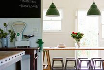 Kitchen chalkboard walls