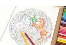Adult Coloring Tools / Coloring isn't just for kids anymore -- many adults enjoy this relaxing hobby as well! The simple and mindful act of coloring has proven to be therapeutic, while also allowing you to exercise your creativity.