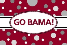 ROLL TIDE / Alabama Crimson Tide.  Roll Tide!