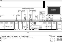 counter/bar counter design