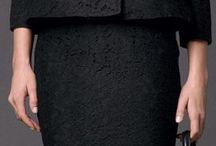 czarny komplet