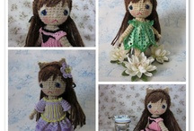 Dolls-Knit or Crochet / by Cora Shaw