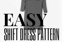 Shift Dress Pattern
