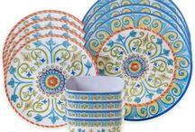 Moore private / Dinnerware, Italian, fiesta, daily