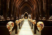 church decor wedding