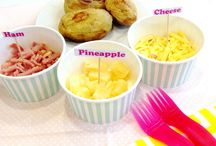 Fun for kids / A super easy and fun dinner idea for children of all ages :)