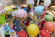 Chadstone Christmas 2016 / Design, build and installation of 3D props. Retail Christmas ideas.  #christmas #3dprops #retailprops #chadstone #stageone
