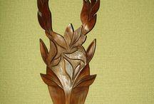 Доисторическое дерево...40 лет назад / фантазии на темы скульптуры