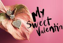 """Hjerte smykker"""" be ny Valentins"""""""