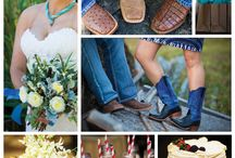 Blues & Boots Taos Wedding / Wear your boots! The western skies and desert hills set the palette for this lovely Taos, New Mexico wedding at El Monte Sagrado. What a view from this venue! Flowers: Margaret Bost Venue: El Monte Sagrado, Taos Photos: Vlad Foto, Vladimir Chaloupka Planning & Design: Corazón Events http://corazonevents.com #wedding #inspo #western #cowgirl #taos