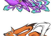 digital work animal style graffity