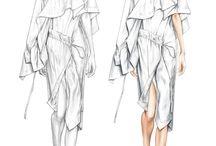 Kezia Oktavia 83721: Fashion Illustration Exploration