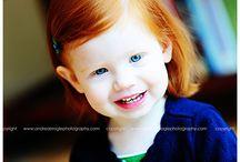 oranje haar