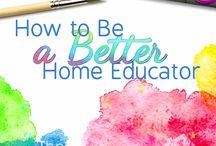 Home Education: high school