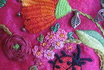 Bordados, tejidos y crochet