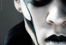 Gothic make up men