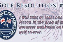 Resolutions / Golfing goals to do in 2015