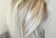platinum bob hair