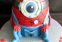 Spiderman cake ideas