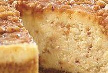 Toffee, caramel cheesecake