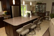 Colette's Kitchen / Optimizing the space you have and creating a workable culinary environment that is not only functional but inviting. Love this simple yet stylish space!