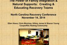 Staff Presentations / Presentations given by CooperRiis staff at various conferences, symposium, and seminars on a variety of topics having to do with mental health, families, and recovery.