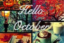 ottobre colori dell'autunno