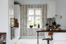 Rustic Modern / Rustic modern with wooden touches.