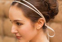 Bandeau de tête mariage